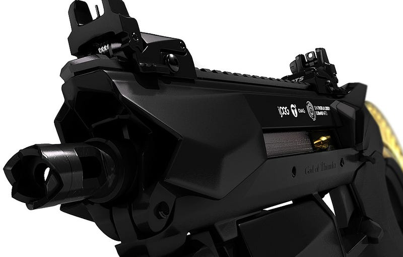 Illustration for article titled Designing Beautiful Guns For Video Games