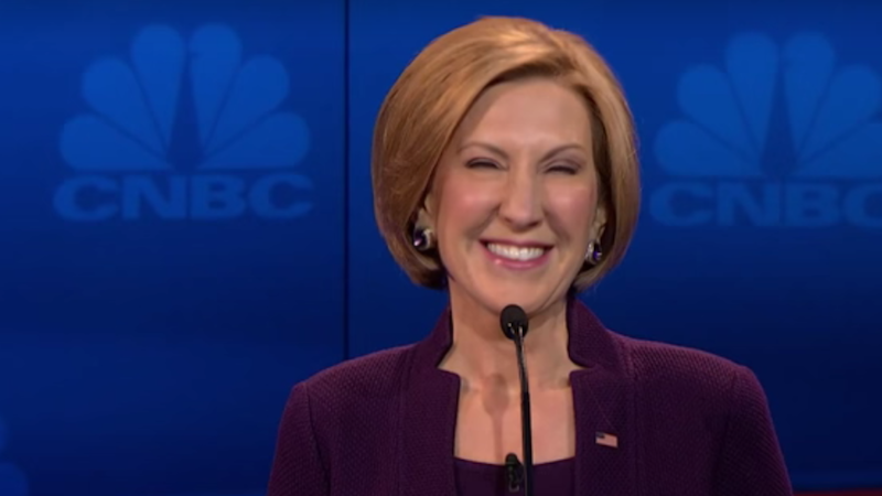 Illustration for article titled Carly Fiorina Gets Booked forThe View, Tells Panelists to 'Man Up'