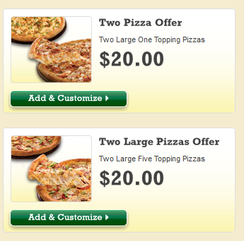 Illustration for article titled Yeah, tough choice Papa John's