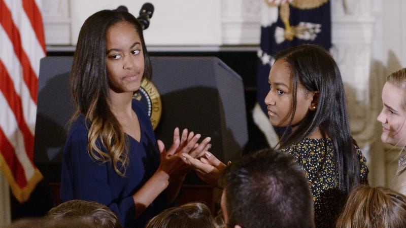 Malia Obama spotted locking lips with new boyfriend at Harvard football game