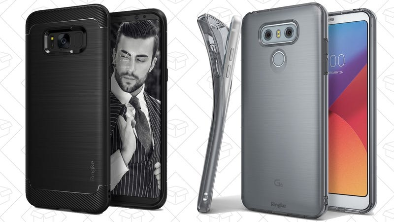 Illustration for article titled Choose From Over a Dozen Galaxy S8 and LG G6 Cases For $4 Each