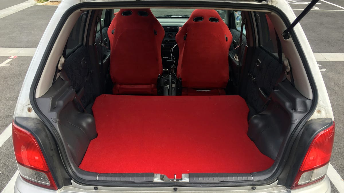 How To Turn Your Hatchback Into A Mini Camper For Cheap Road Trips