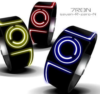 Illustration for article titled These Awesome Tron Watches Will Only Exist If You Want Them Enough