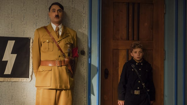 Jojo Rabbit puts a Kiwi clown nose on a treacly, middlebrow Holocaust movie