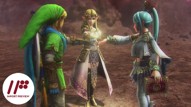 Illustration for article titled Hyrule Warriors is Far More Dynasty Warriors than Zelda