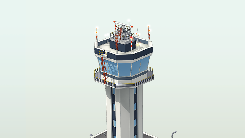 Illustration for article titled Enjoy This Video Of A Small Simulated Airport