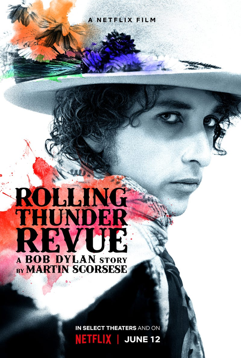 Illustration for article titled Watch This Now: Rolling Thunder Revue: A Bob Dylan Story