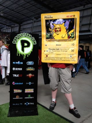 Pikachu Trading Card Cosplay Electrifies Our Hearts