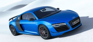 Illustration for article titled Audi R8 LMX To Annihilate Darkness With Laser High Beams