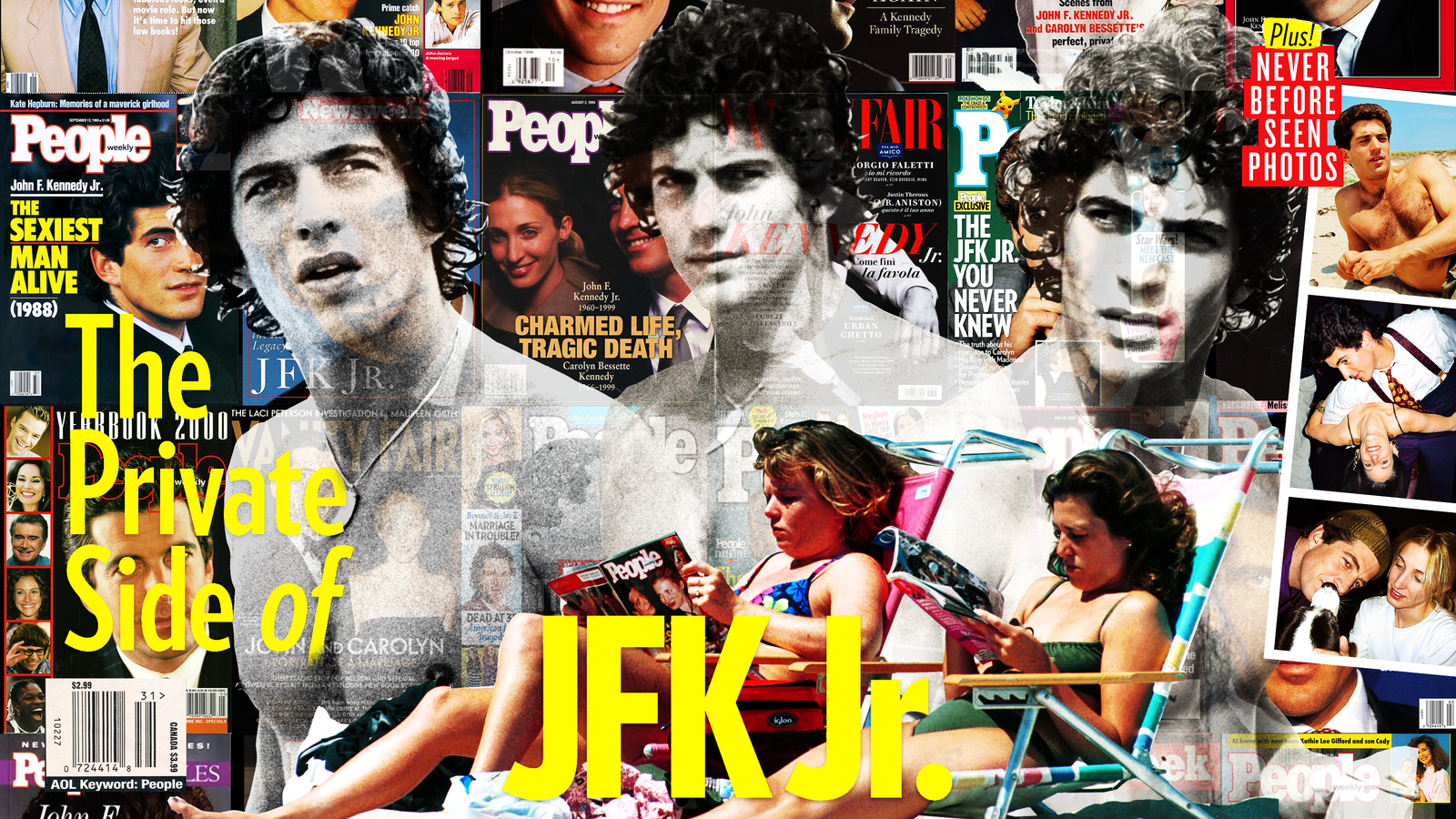 John F Kennedy Jr Special Last Days Of Magazine Bred Fame