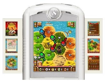 Illustration for article titled Catan Officially Settling on iPhone