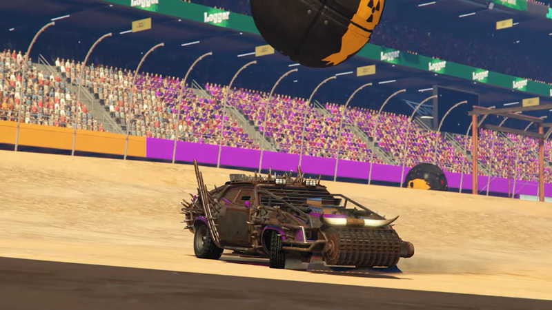 Illustration for article titled GTA Online's NewRocket League-Style Mode Isn't Great
