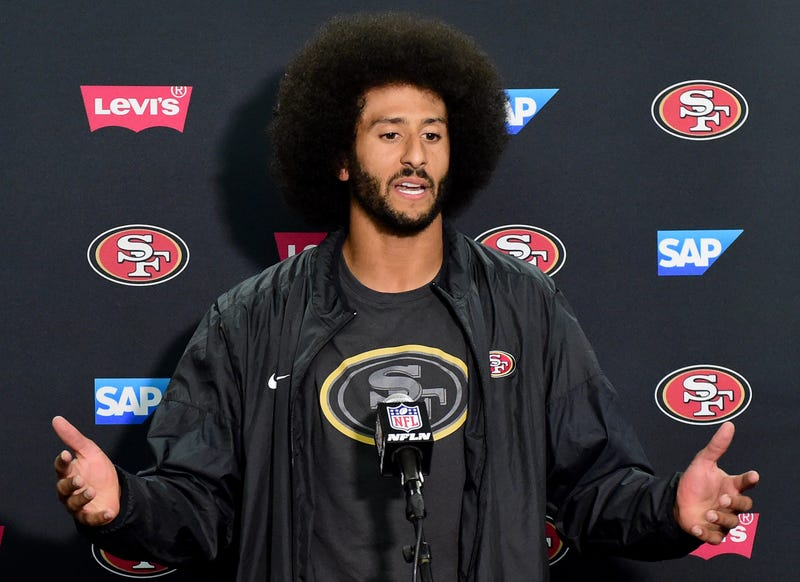 Colin Kaepernick Harry How/Getty Images