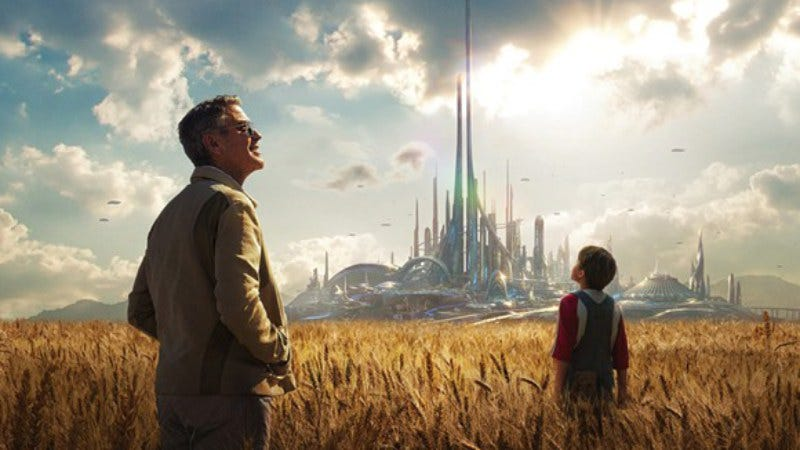 Illustration for article titled Weekend Box Office: America marches indifferently into Tomorrowland