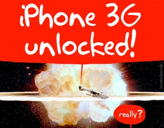 Illustration for article titled iPhone 3G Unlock Now Available
