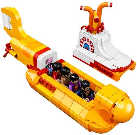 The Beatles Polska: Yellow Submarine z klocków Lego pojawi się w sklepach