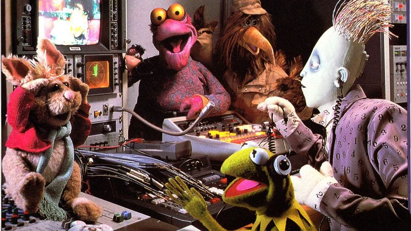 Illustration for article titled The Jim Henson Hour marked the first time that chaos defeated the frog