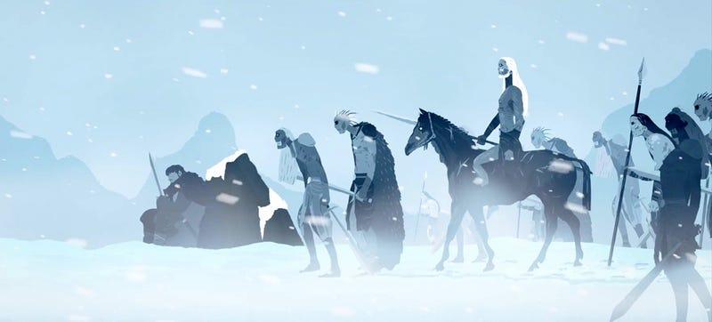 Illustration for article titled 4 años de Juego de Tronos, resumidos en un elegante tráiler animado