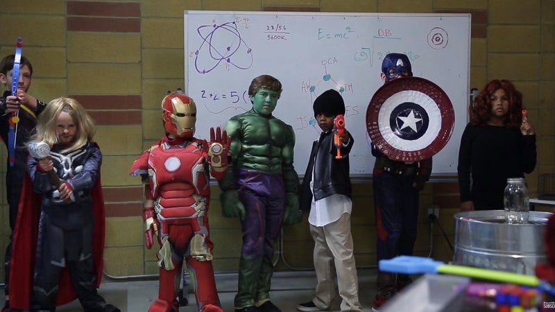 Illustration for article titled Trailer parody casts adorable little kids as the Avengers