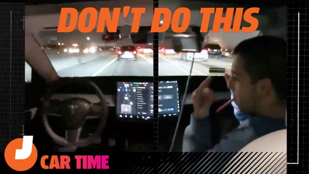 Here's Why Viral Videos About Tesla Autopilot Are So Dangerous