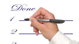 "Illustration for article titled Use a ""Done List"" to Keep Yourself Feeling Efficient and Motivated"