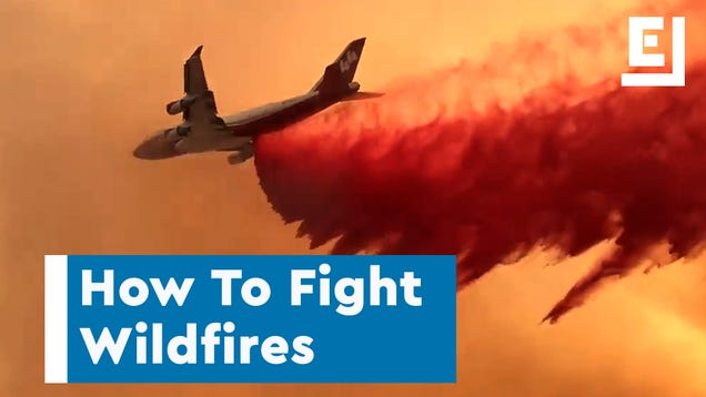 Here s How the Pros Fight Wildfires
