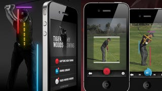 Illustration for article titled Tiger Woods: My Swing App Only Improves Your Golf Swing