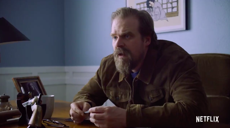 The First Trailer For David Harbour's Frankenstein Mockumentary Is as Weird as Its Title