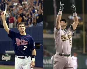 Illustration for article titled Live Playoff Blog: Twins Vs. A's, Game One