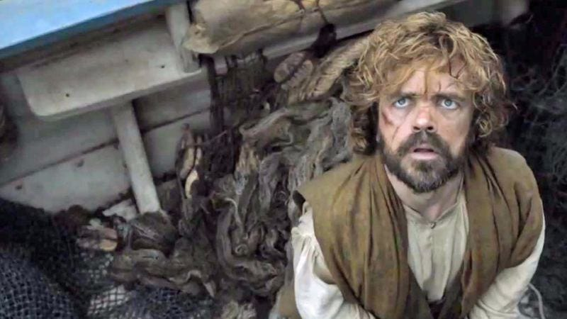 Even Tyrion's impressed by all that illegal downloading