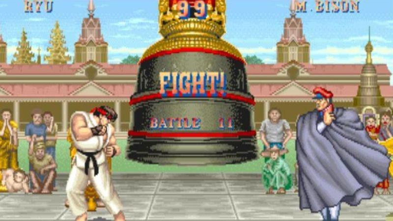 Screenshot: Street Fighter 2