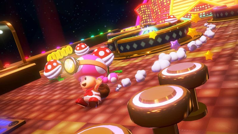 Illustration for article titled Captain Toad: Treasure Tracker proves that stealth can still be colorful