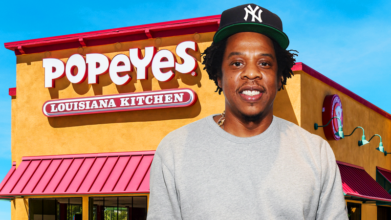 Illustration for article titled A Case for Why Jay-Z Should Forget About the NFL and Just Buy a Popeyes Franchise