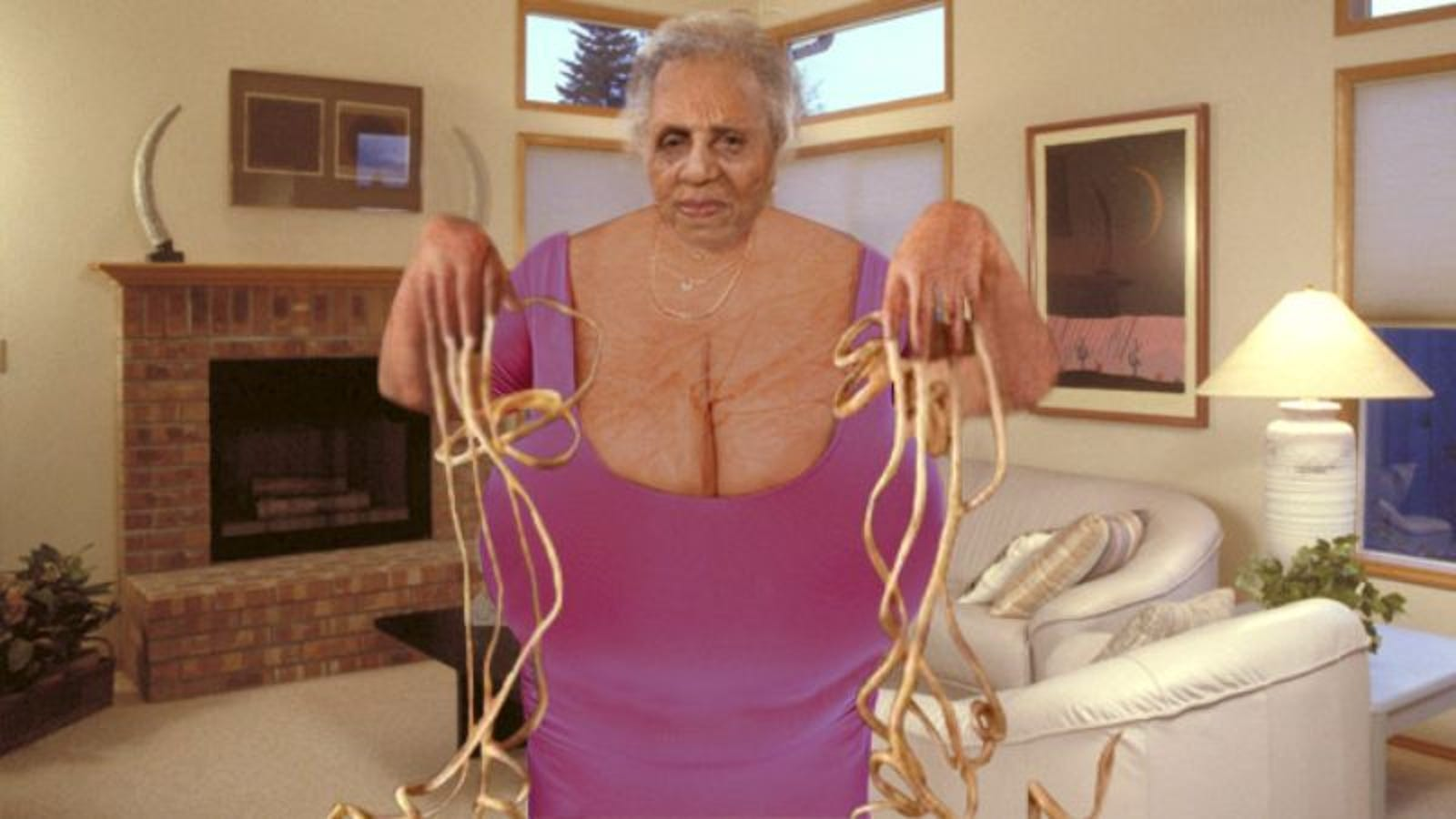 The Guinness World Record Holder For Largest Natural Breasts And Longest  Fingernails Has Also Just Become The World's Oldest Woman!