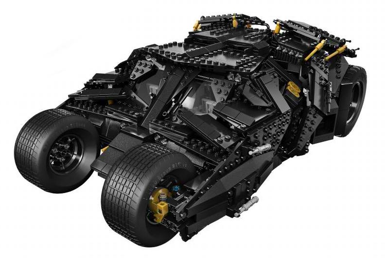 Illustration for article titled Holy crap, check out the awesome new Lego Batman Tumbler!