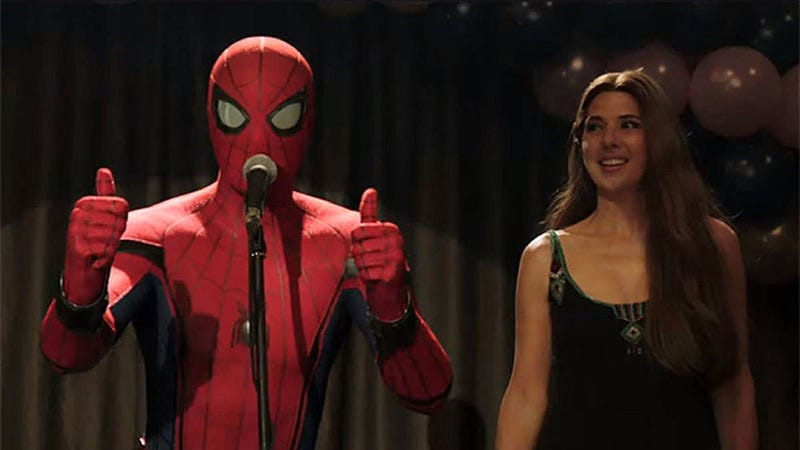 Holland, en una escena del tráiler de Spider-Man: far from home