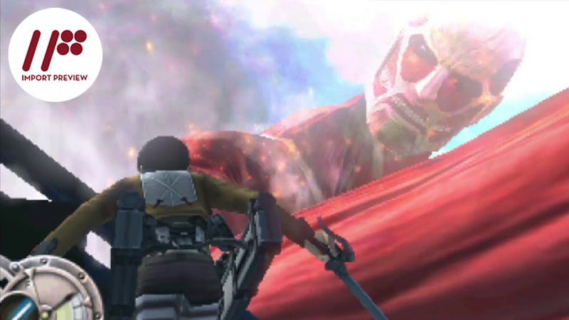 Illustration for article titled The New Attack on Titan 3DS Game Is a Solid Upgrade of the Last One