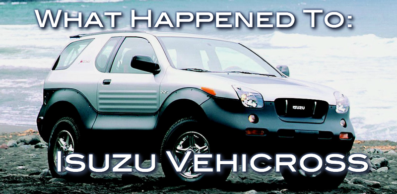 Illustration for article titled What Happened To: Isuzu VehiCROSS