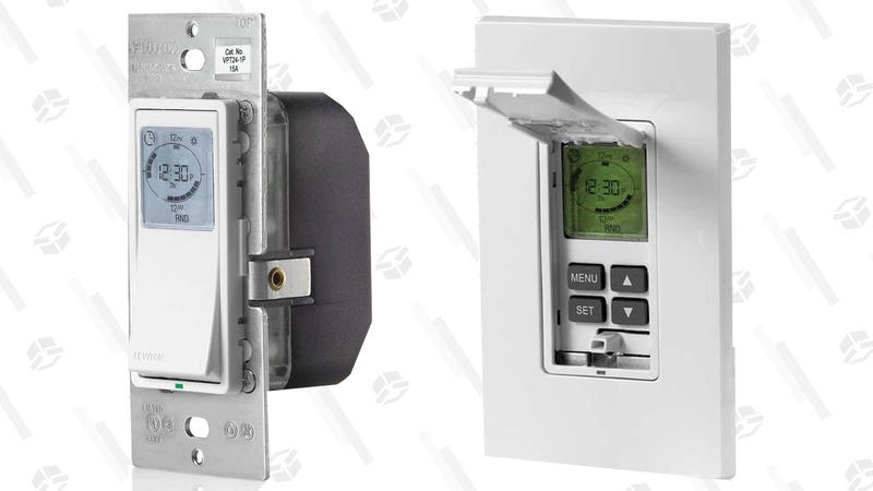 Leviton Programmable Light Switch | $16 | Amazon