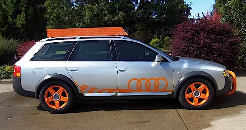 Illustration for article titled For $7,150, Orange You Glad This 2005 Audi Allroad Didn't Say Banana?