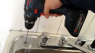 Illustration for article titled How to Drill Into a Stainless Steel Sink