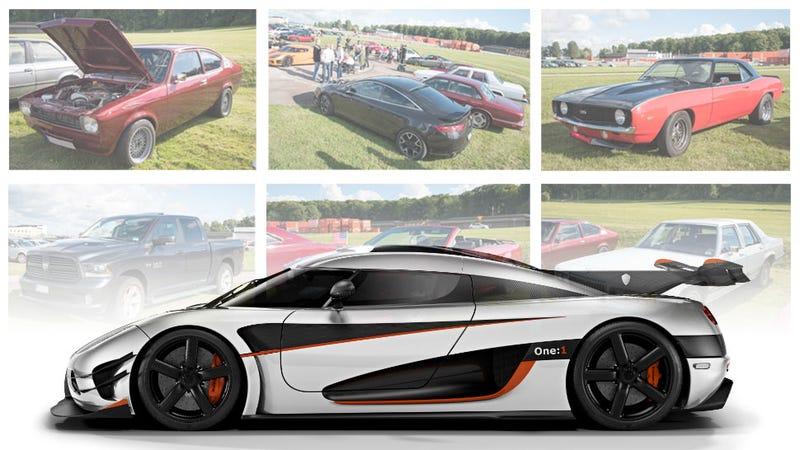 Illustration for article titled Koenigsegg Employees Drive Some Amazing Cars