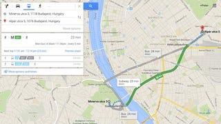 Illustration for article titled A négyes metrót már a Google is vágja