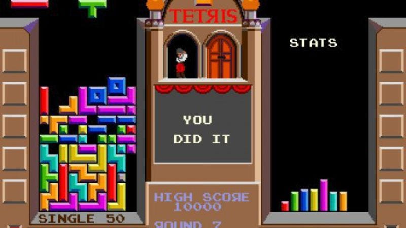 Playing Tetris helps you reduce cravings for food, alcohol, and cigarettes