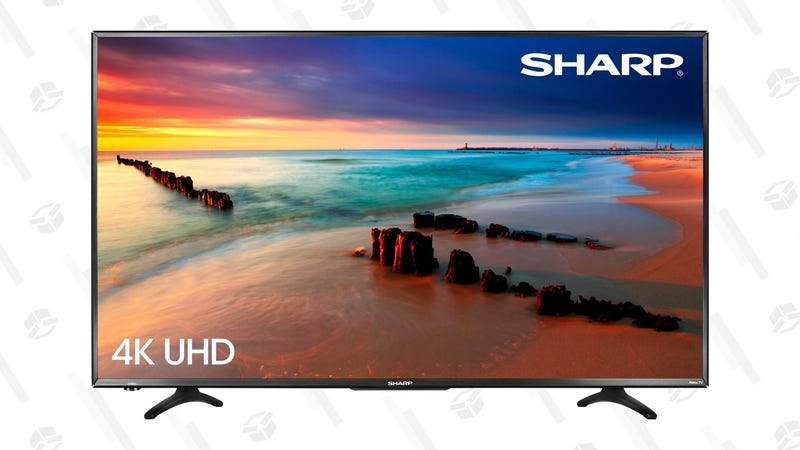 "43"" Sharp 4K UHD with Roku 