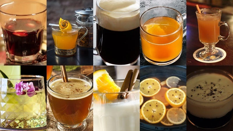 10 Cold Weather Cocktails Guaranteed to Warm Up Your Winter