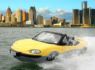 Illustration for article titled Feds Sink Our Amphibious Car Dreams