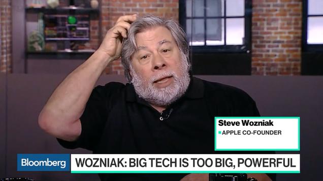 Steve Wozniak Says Big Tech Companies Like Apple Should Be Broken Up
