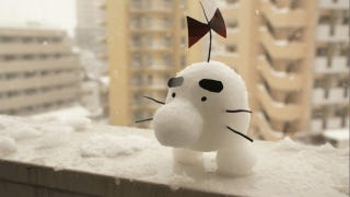 Illustration for article titled Snow Dicks and Cute Characters: Winter Hijinks Cover Tokyo.