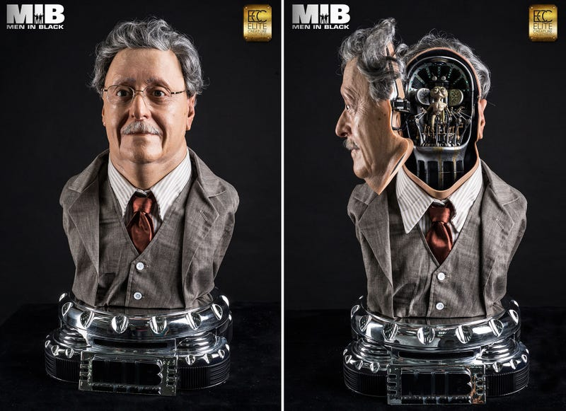 Illustration for article titled You'll Go From Zero To Want In Two Seconds Flat For This MIB Bust